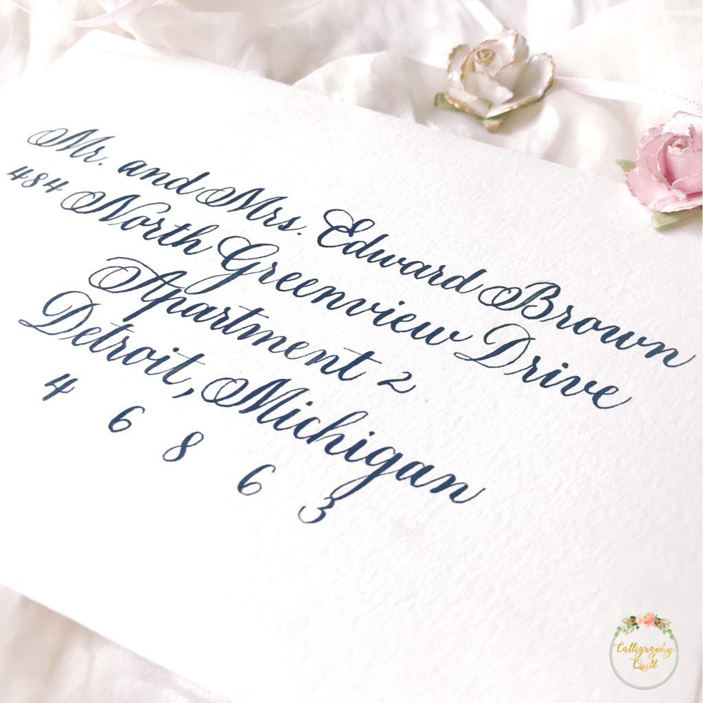 Traditional Calligraphy Never Fails To Wow Your Guests When They Receive  Their Wedding Invitations. Especially When Its Copperplate.