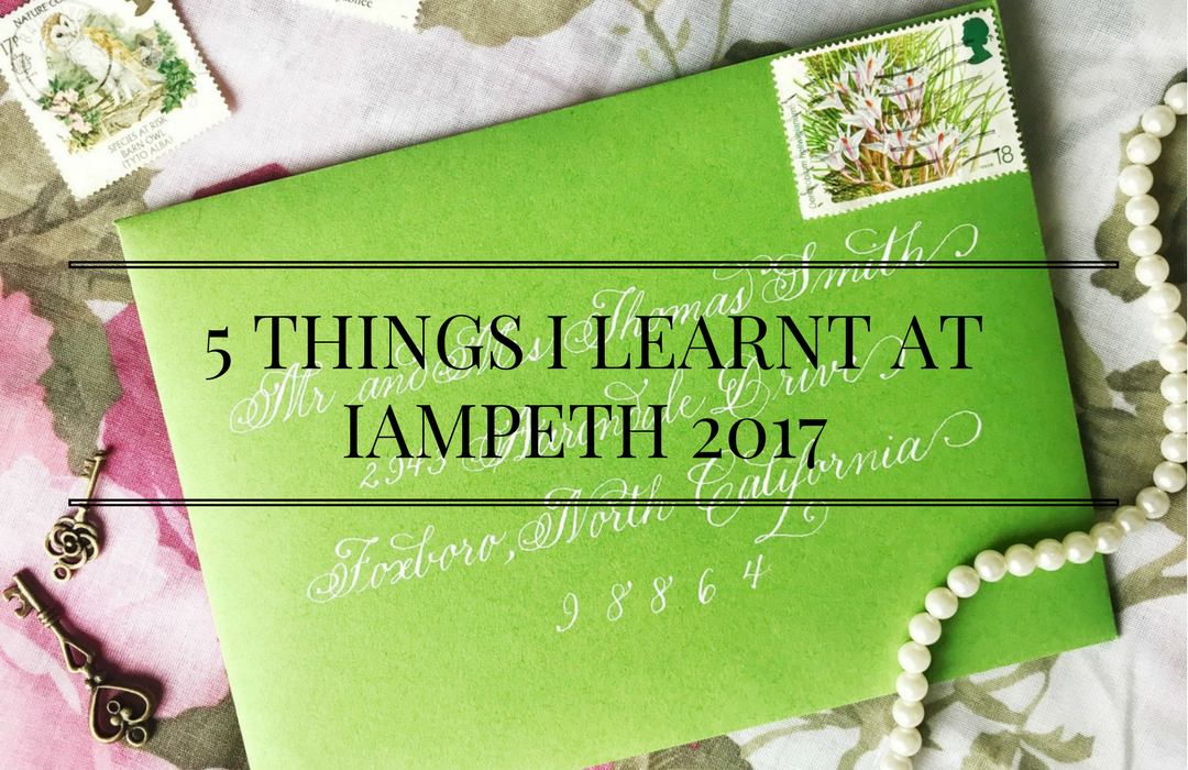 5 Things I Learnt at IAMPETH 2017