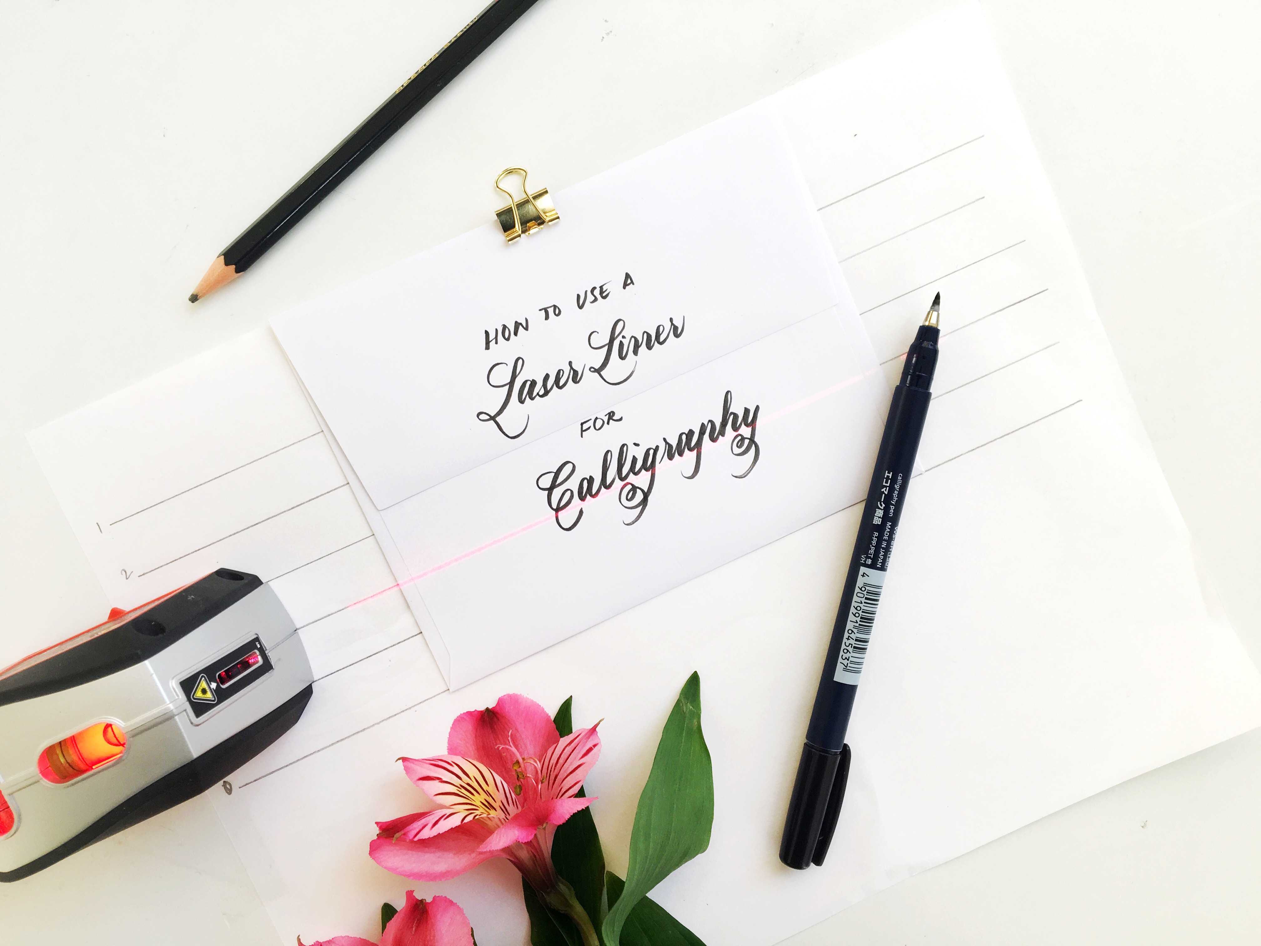 Laser liner calligraphy everything you need to know